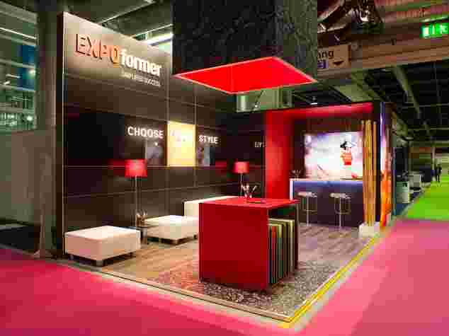 EXPOformer - Choose your style: Aluvision Messebau vom Profi