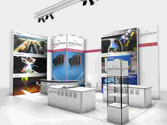 Miet-Messestand Photofocus an der Vision 2018