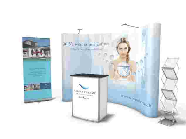 Ecoline-Mirage Messestand, 2x4 Meter, Messe Bern