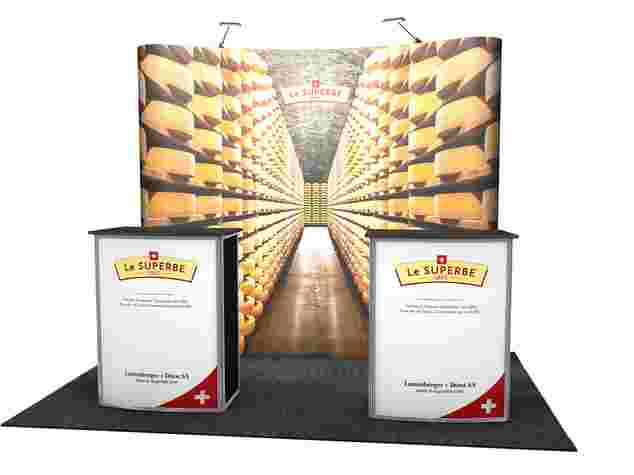 Demotheke, Counter, Popup, Faltdisplays