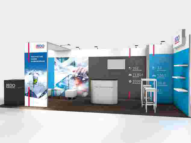 BDO Panoramic Messestand