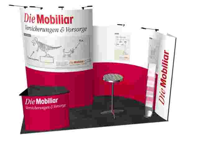 Ecoline-Mosaic Messestand, 2x4 Meter, Messe Bern