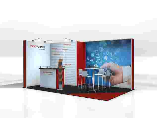 ECOline-Engage Messestand 3x5 Meter, Messe Bern