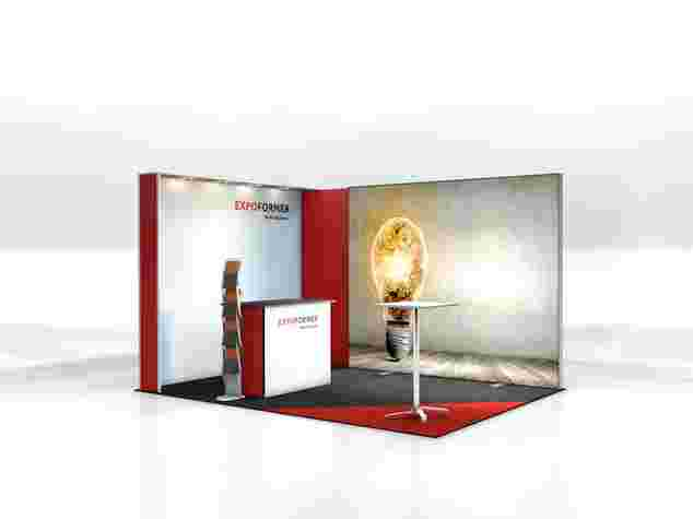 Engage-Messestand